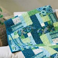 Love the colors on this one and the pattern too!~ Tribecca: Quick ... & Tribecca: Quick Modern Two Block Lap Quilt Pattern - I have the magazine  with the pattern McCall's Quick Quilts April/May 2013 Adamdwight.com