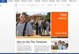 Word Templates For Newsletters Professional Newsletter Template For Word