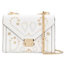 michael kors shoulder bag michael michael kors 30t8txil3u whitney large embellished leather convertible shoulder bag