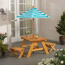 full size of interior amusing kidkraft picnic table 21 outdoor kids 2527 4 piece set with