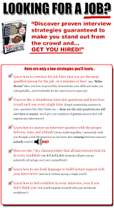 job interview questions and answers killer interview secrets job interview questions and answers killer interview secrets employment jobs job skills training interview questions job interview