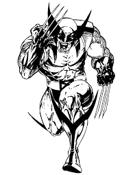 So i got a good bit of constructive criticism for this piece on some. Free Wolverine Coloring Pages To Print Coloring4free Coloring4free Com