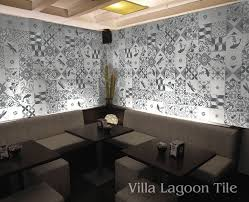 patchwork elegance cement tile