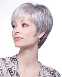 cly fine pixie gray haircut