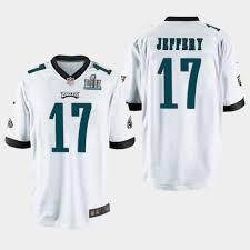 Jersey Men's Super Eagles Alshon Jeffery 17 Game Philadelphia Bowl White Lii Champ -
