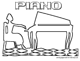 Music Coloring Pages For Kids Printable Printable Coloring Page