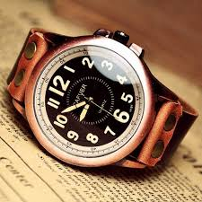 62 best images about watches omega seamaster planet man watch men s leather watch vintage retro style by viviangift