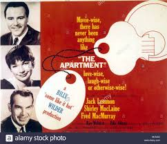 The Apartment 1960 Poster Stock Photos The Apartment 1960 Poster