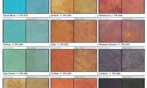 Patina Color Chart Acid Stain Color Chart Dealers Kemiko Concrete Makovice Info