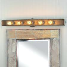 Rustic Bathroom Vanity Lights Delectable Rustic Bathroom Lighting Ideas Elegant Rustic Bathroom Lighting