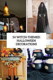 34 Witch-Themed Halloween Decorations To Create An Ambience - DigsDigs