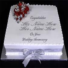 Create Anniversary Cake Pics With Name