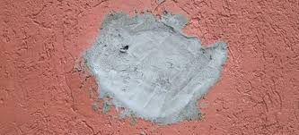 tips when filling a deep hole in a wall