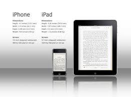 ipad size comparison ipad vs iphone size comparison