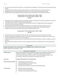 Staff Accountant Resume Samples Accounting Resume Samples Airexpresscarrier Com