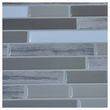 Stick On Backsplash For Kitchen Stick Backsplash Tiles For Bathroom And Kitchen Wall 6 Sheets 58