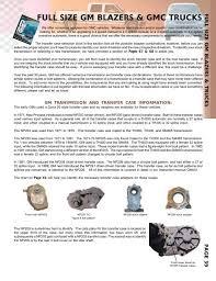 Jeep Transfer Case Identification Chart Gm Full Size Pirate4x4 Com