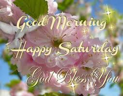 Happy saturday, have a great day. Good Morning Happy Saturday God Bless
