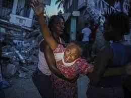 Zahl der Toten nach Haiti-Beben steigt ...