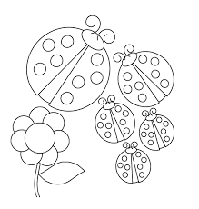 Insecten Kleurplaten Lieveheersbeestjes