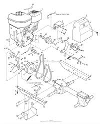 troy bilt 12210 6 5 hp super bronco parts diagrams