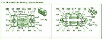 groundcar wiring diagram page 6 2003 chevrolet suburban 5 3l 4wd steering column fuse box diagram