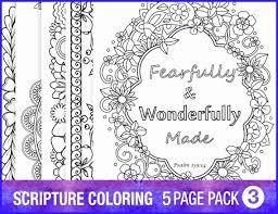 Bible Coloring Pages Pdf Marvelous 5 Bible Verse Coloring Pages Set