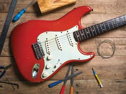 25 ways to upgrade your fender stratocaster guitar com all red stratocaster mods upgrades