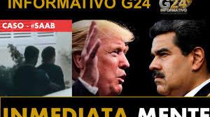 VZLA- CASO ALEX SAAB-EE.UU.-COLOMBIA Hoy con el Analista John Marulanda –  Infomativo G24