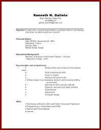 College Resume Tips Mesmerizing Resume Examples For College Students With Little Experience Resume