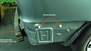 2000 Toyota Sienna rear Bumper cover replacement (1998-2003) - YouTube