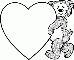 Small Picture Hearts With Wings Coloring Pages Free Printable Heart Coloring