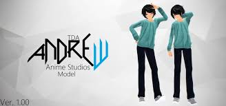 Cast your votes, along with other anime fans across the world, to see which guy anime. Mmd Tda Andrew Anime Studios Model Model Dl 1 000 Subscriber Youtube
