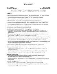 Training Specialist Resume Mark F Hagerty Od Training Director Resume Professional