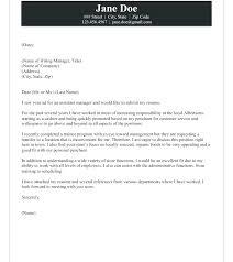 Sample Assistant Manager Cover Letter Assistant Restaurant Manager