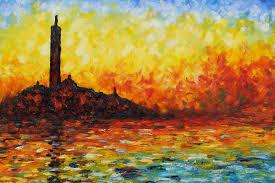 san giorgio maggiore by twilight by claude monet