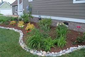 Backyard Landscape Designs On A Budget Cool Rocks For Edging 48 Tips For Landscaping On A Budget B A C K Y A R D