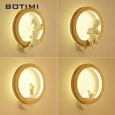 <b>BOTIMI Nordic LED</b> Wall Lamp Modern Wall Sconce Luminaira ...