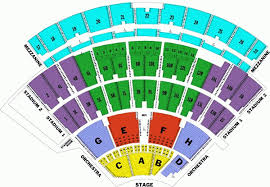 Jones Beach Nikon Theater Seating Chart Www