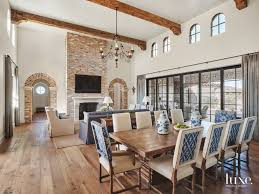 Cheap Materials For Interior Design A Refined Take On Rustic Materials Shines In Scottsdale