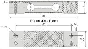 load cell 40 kg 3763 sunrom electronics technologies dimensions