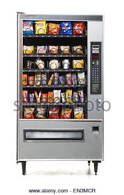 Junk Food Vending Machines Delectable Vending Machine Full Of Junk Food Stock Photo 48 Alamy