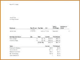 create paycheck stub template free how to create a pay stub in excel how to make a pay stub in template