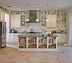 Retro Kitchen Flooring Retro Kitchen Design Black Granite Countertops As Well As Rustic