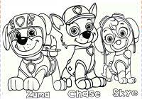 Free Printable Paw Patrol Coloring Pages With Paw Patrol Coloring