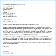 Examples Of Letters Reference For Employment 12 Portsmou Thnowand Then