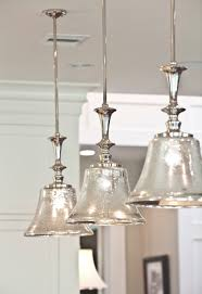 Elegant Mercury Glass Island Light Island Pendant Lighting Transitional  Houston Ridgewater