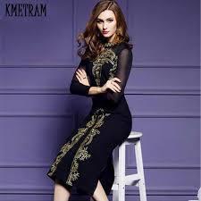 Ladies Dresses <b>2019 Fashion</b> Knitting <b>Hot Sale</b> Solid Sweater Dress ...