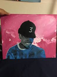 chance the rapper coloring book mixtape cover
