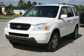 2004 honda pilot ex l 4dr 4wd suv w leather and entertainment system